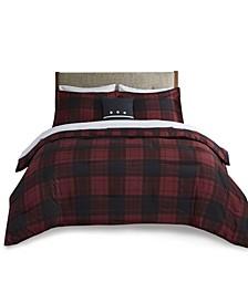 Everest 8 Piece Reversible Queen Bedding Set