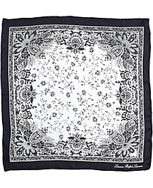 Cotton Signature Printed Bandana