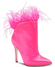 Prixey Feather Booties