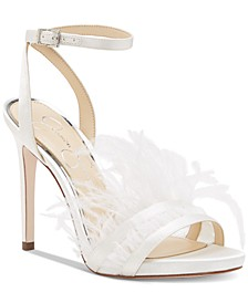 Raelin Feather Sandals