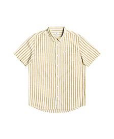 Men's Oxford Lines Short Sleeve Shirt