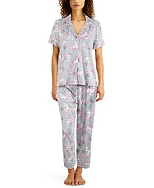 Printed Capri Pants Pajama Set, Created for Macy's