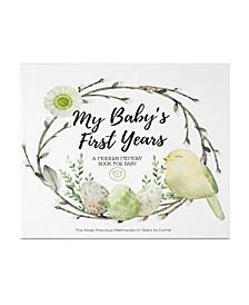 Wonderland Baby Milestone Book
