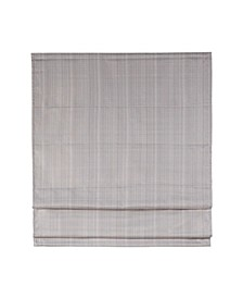"Galen Basketweave Room Darkening Cordless Roman Shade, 33"" x 64"""