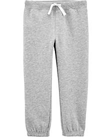 Toddler Boy Pull-On Fleece Pants