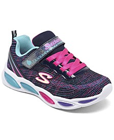 Little Girls S Lights Shimmer Beams Sparkle Glitz Light-Up Running Sneakers from Finish Line