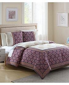 White Birch Myra 3-Pc. Full Comforter Set