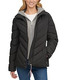 Hoodie Puffer Coat, Created for Macy's