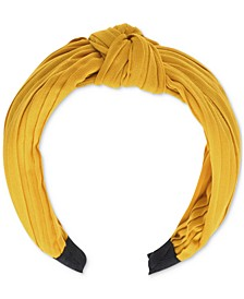 INC Pleated Knotted Headband, Created for Macy's