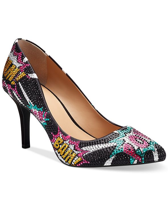 INC International Concepts INC Women's Zitah Embellished Pointed Toe Pumps, Created for Macy's
