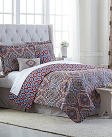Decatur 6-Pc. Reversible Queen Quilt Set