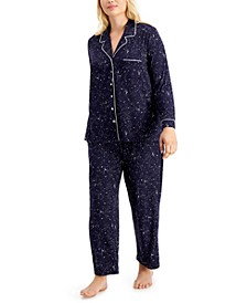 Plus Size Ultra-Soft Pajama Set, Created for Macy's
