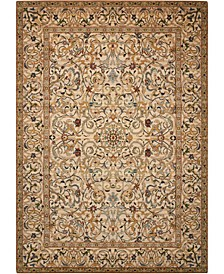 "Timeless TML16 Copper 5'6"" x 8' Area Rug"