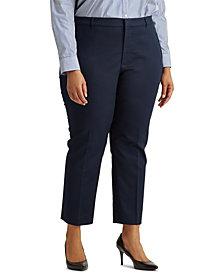 Lauren Ralph Lauren Plus Size Skinny Pants