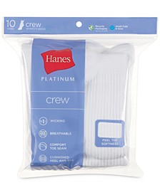 Women's Platinum 10pk Crew Socks