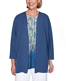 Petite Palo Alto Layered-Look Necklace Top