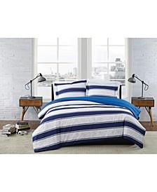 Watkins Stripe Comforter Set Collection