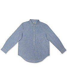 Cotton Popover Shirt, Created for Macy's