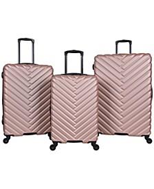 Broadway 3-Pc. Hardside Luggage Set