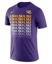 LSU Tigers Men's Repeating Logo T-Shirt