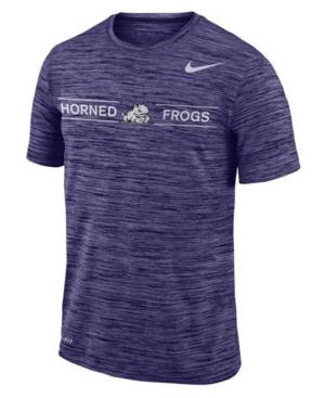 Nike Texas Christian Horned Frogs Men's Legend Velocity T-Shirt