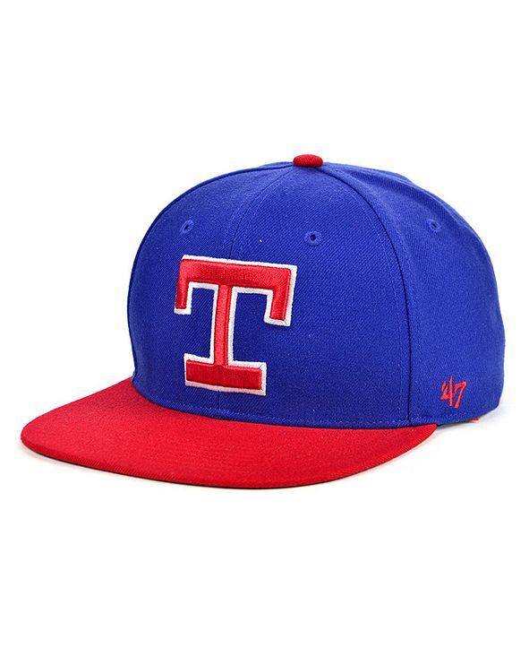'47 Brand Texas Rangers Coop Shot Snapback Cap
