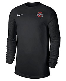 Nike Ohio State Buckeyes Men's UV Coaches Long Sleeve Top