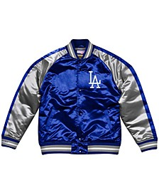 Men's Los Angeles Dodgers Color Blocked Satin Jacket