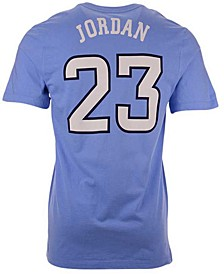 North Carolina Tar Heels Men's Basketball Jersey T-Shirt Michael Jordan