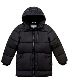 Little Boys Stadium Length Puffer Jacket