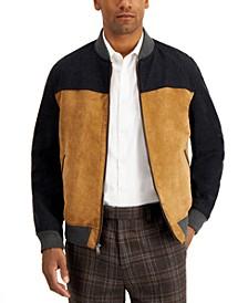 Men's Mixed-Media Jacket, Created for Macy's
