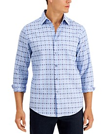 Men's Cagio Plaid Shirt, Created for Macy's