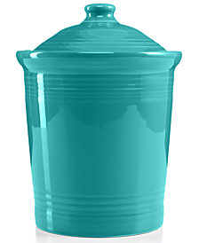 Fiesta Turquoise Large Canister