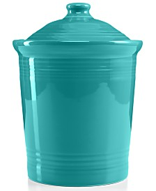 Fiesta Turquoise 3 qts. Large Canister