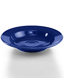 Fiesta Cobalt Rim Soup Bowl