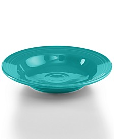 Turquoise 13.25 oz. Rim Soup Bowl