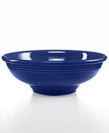 Fiesta Cobalt Pedestal Bowl