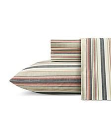 Bay Stripe Queen Sheet Set