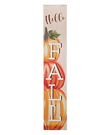 """42"""" Fall Wooden Large Porch Sign or Decor"""