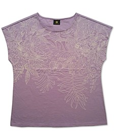 Embroidered Top, Created for Macy's