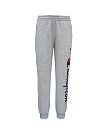 Big Boys Script Fleece Jogger