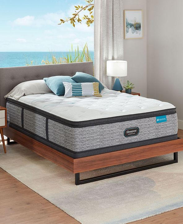 "Beautyrest Harmony Lux Carbon 15.75"" Medium Firm Pillow Top Mattress - Twin"