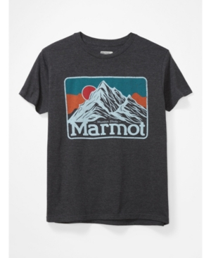 Mens Mountain Peaks Tee Short Sleeve
