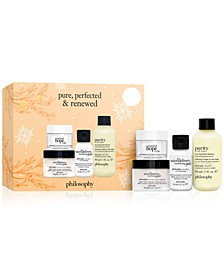4-Pc. Pure, Perfected & Renewed Gift Set