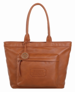 Supple vegan leather tote, Chic design with numerous interior and exterior pockets with main zipper closure. Excellent space throughout the tote, allowing you to be on the go with all of your essentials.