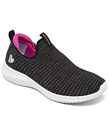 Little Girls Ultra Flex Standing Ovation Casual Sneakers from Finish Line