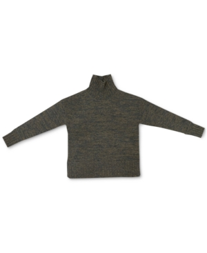 Charter Club MARLED CASHMERE TURTLENECK SWEATER, IN REGULAR AND PETITE, CREATED FOR MACY'S