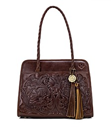 Leather Paris Satchel