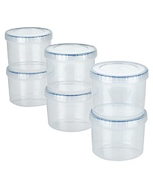Easy Essentials 12-Pc. Twist Round Food Storage Set, 22-Oz.