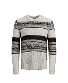 Men's Wool Striped Sweater